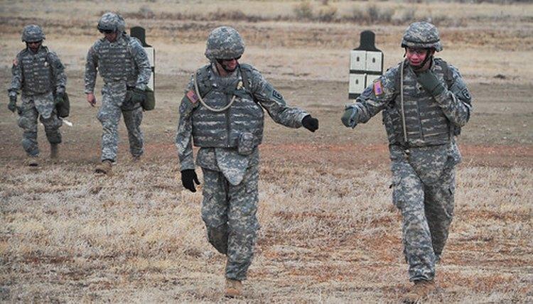 National Guard Members in Training