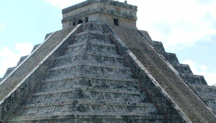 Chichen Itza, a Mayan pyramid built using stone tools