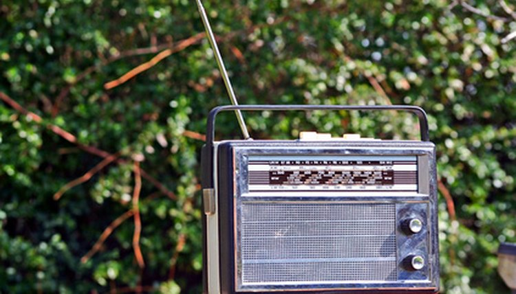 Donate or recycle unwanted radios.