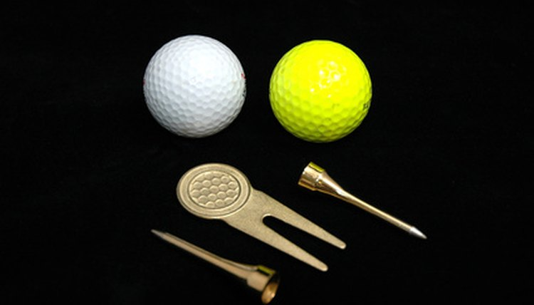 A golfer should never head out onto the course without the proper tools of the trade.