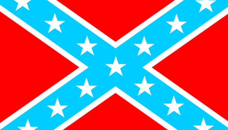 The Confederate Flag is actually the Battle Flag of the Confederacy.