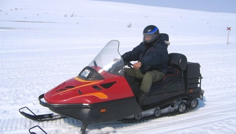 How to Repair a Snowmobile Track