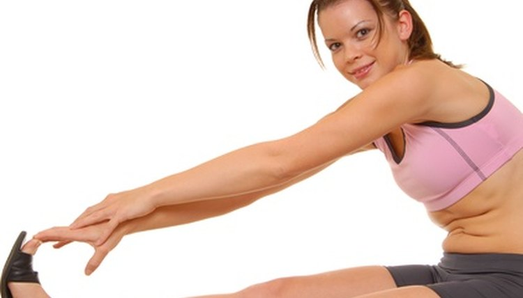 Stretching your hamstrings improves lower-body muscle tone and flexibility.