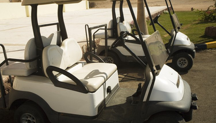 Golf cart seats can easily get dirty but are effectively cleaned in a few simple steps.