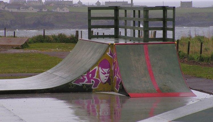 How to Build a Concrete Skate Ramp