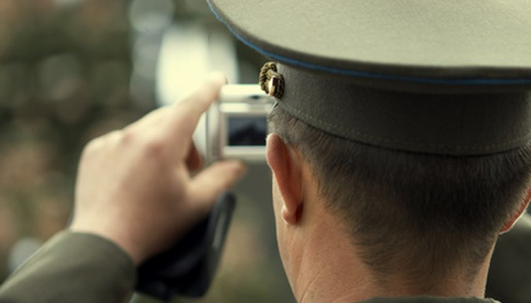 An example of a military officer.