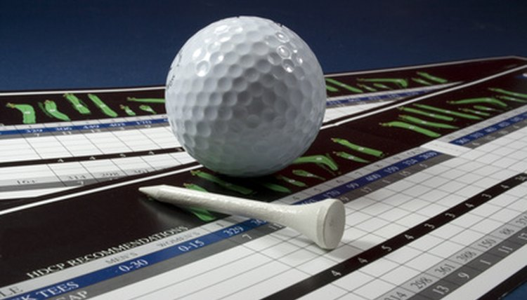 Golf scores are based on each hole played, as well as the total of all holes played in the round.