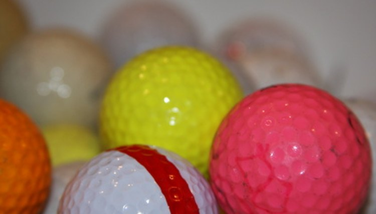 Recyclers can recover up to 10,000 used golf balls in one eight-hour diving session.
