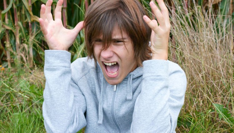 Sudden and irrational bouts of anger and rage might be due to negative spirits.