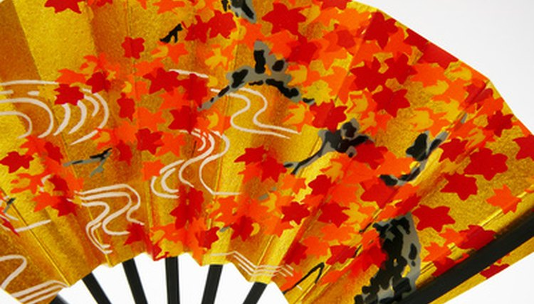 Japanese fans are more than just decorative.