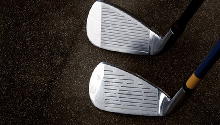 Grooves on your golf clubs primarily are designed to create spin when the ball is struck properly.