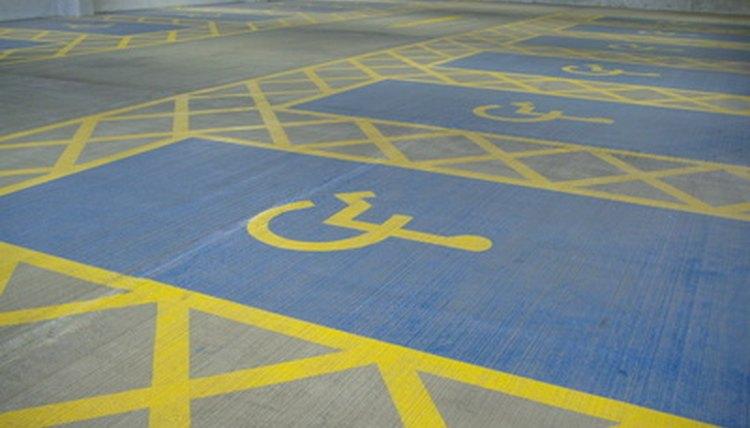 Disability parking spot