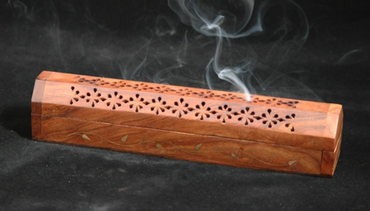 Frankincense is often burned as an incense
