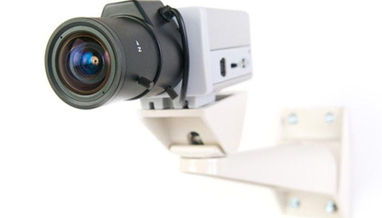 CCTV allows for a surveillance network.