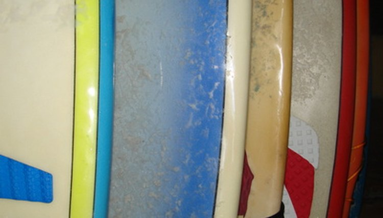 How to Paint Epoxy Surfboards