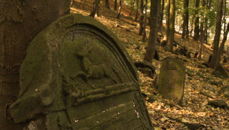 You can carve designs onto your own gravestone.