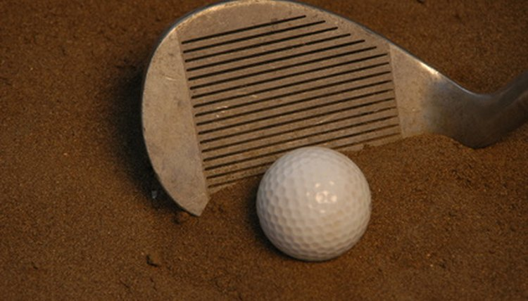 Bringing your club to rest in the bunker is one way to receive a two-stroke penalty.