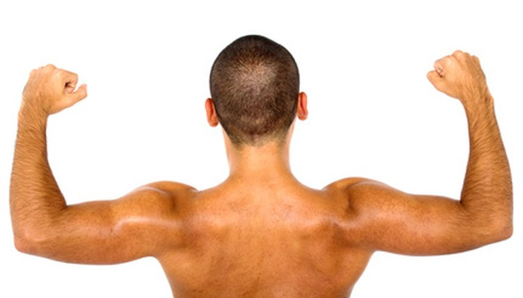 Curls increase bicep strength.
