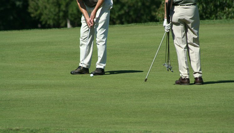 Address, position and stroke are vital components in good putting.