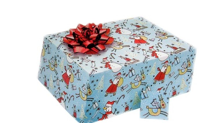 Gift wrap can be useful to charity organizations during the holidays.