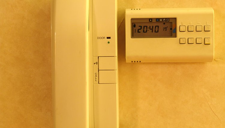 Oil or natural gas can be used to heat homes.