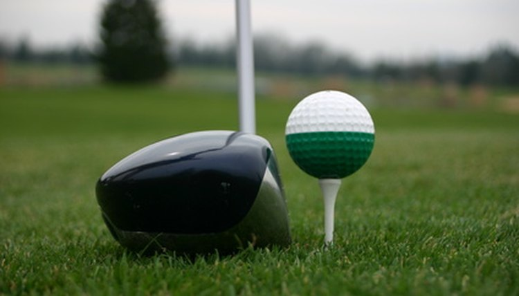 Tee the ball up slightly higher than the top of your driver.