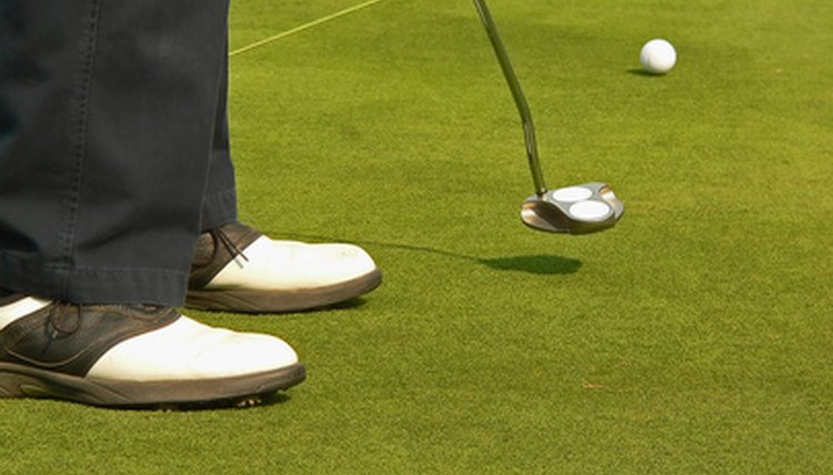 The putter is the most frequently used club in the golf bag.