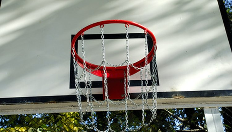 How to Make Your Own Basketball Steel Chain Net