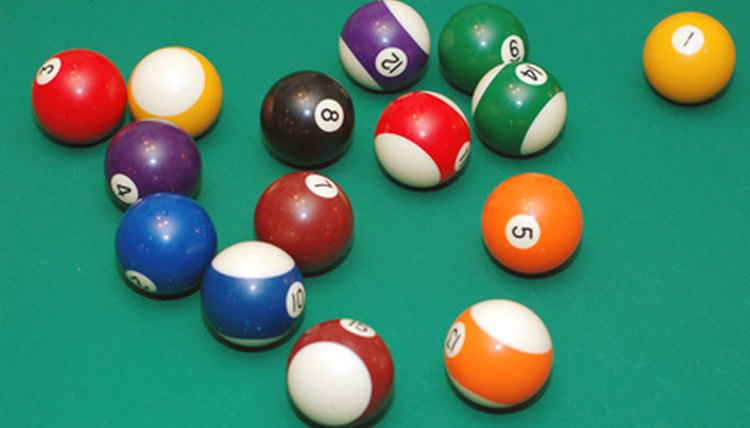 What Are the Standard Colors of Pool Balls?