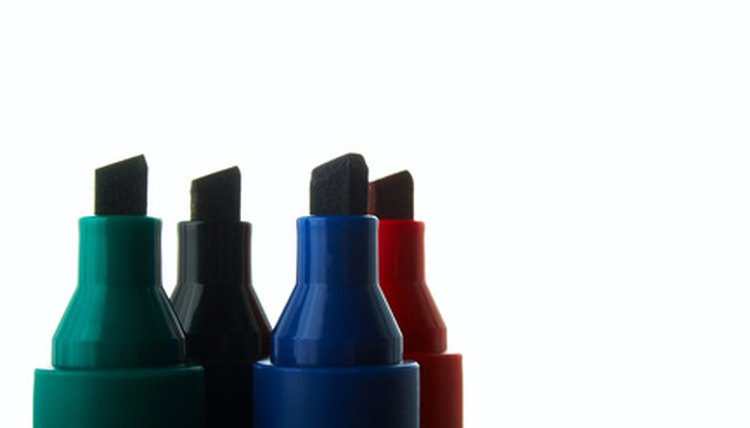 Dried-out markers can be reused to create a variety of things.