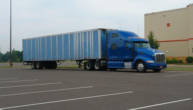How To Back Up An Eighteen Wheeler Truck Career Trend