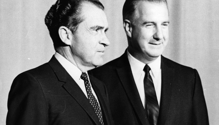 Nixon considered replacing Agnew in 1972