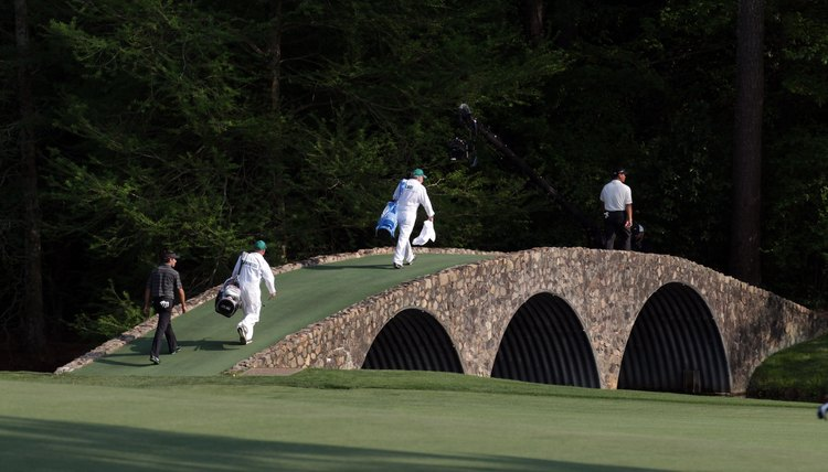 The Masters, held at Augusta National Golf Club, is notable for its picturesque scenery.