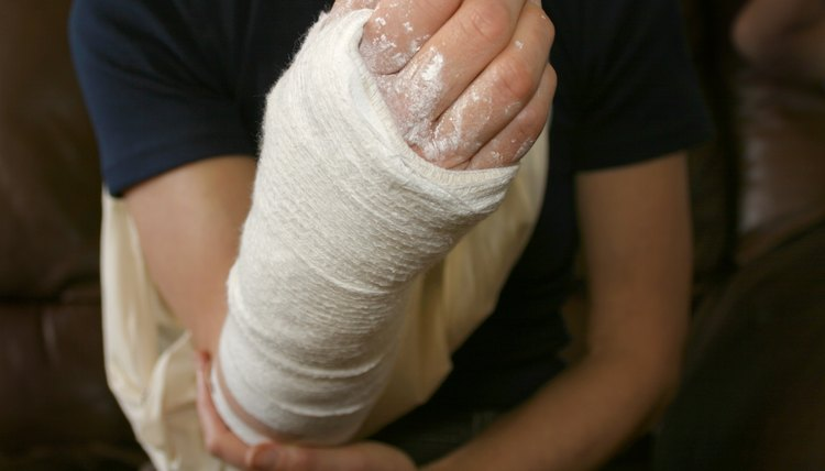 What Do I Put Over a Right Arm Cast to Play Soccer?