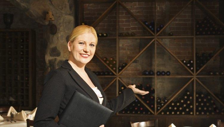 Hostess At Fine Restaurant Thinkstock Stockbyte Getty Images Dining Room Supervisors