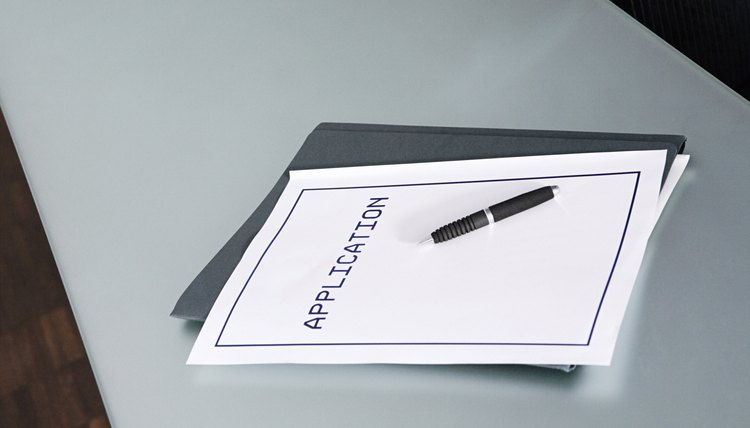 Pen and application form