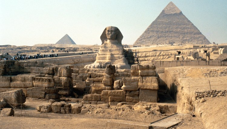 The glory of Ancient Egypt is survived by its immense monuments.