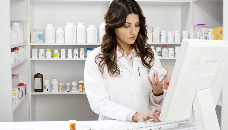 Pharmacy technicians may need to complete some formal training.
