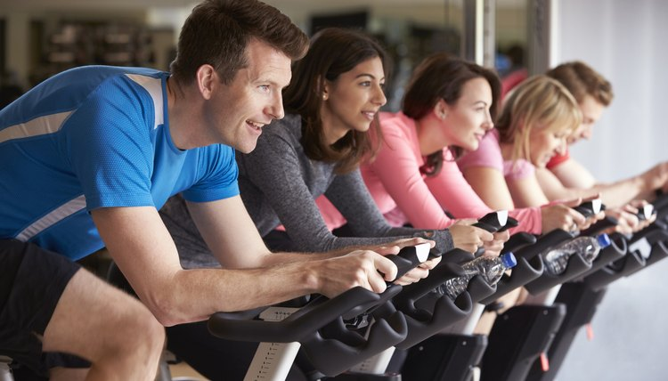 How Does an Exercise Bike Tone Your Hips & Stomach?