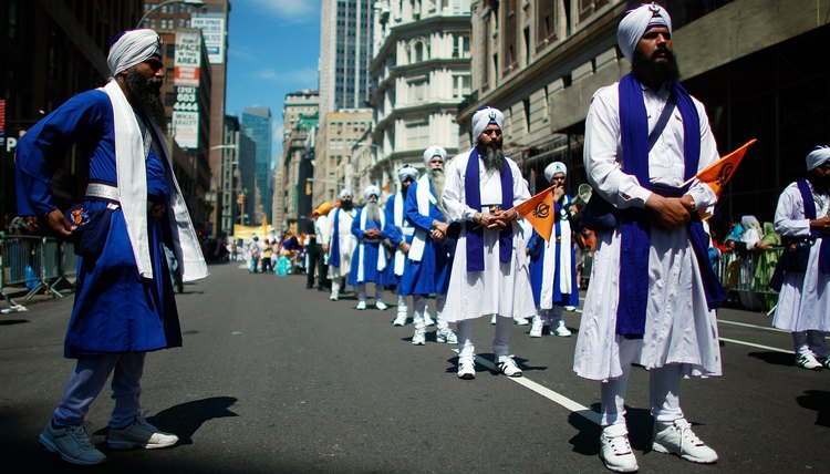 A Sikh Parade