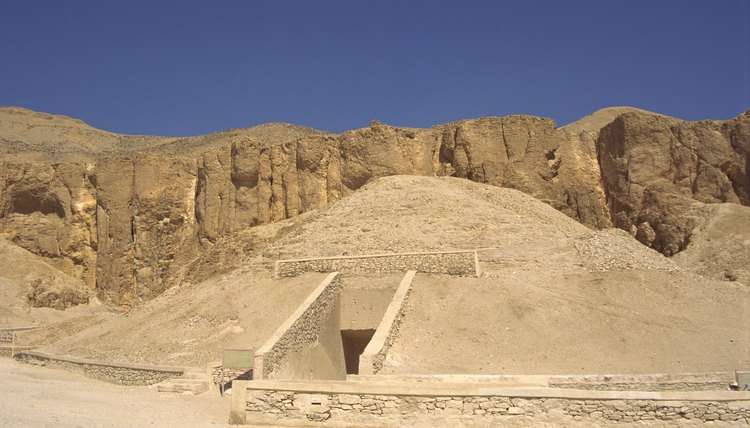Pyramids were royal tombs for Egyptian kings.