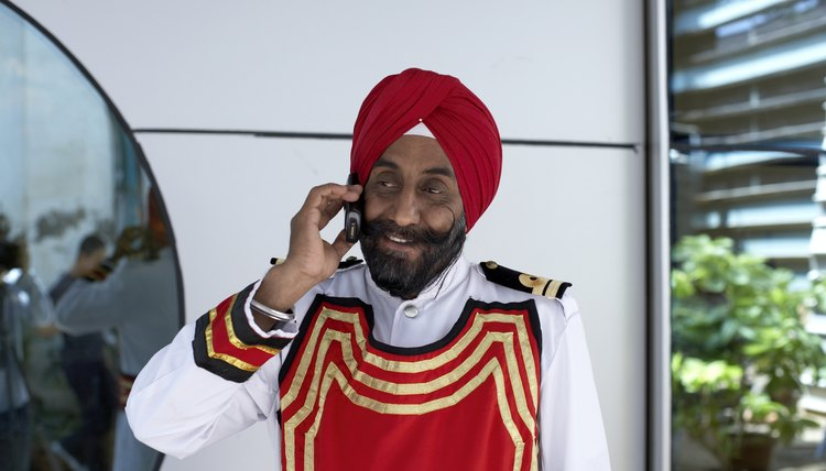Sikhs grow their hair because it is considered a gift from God.