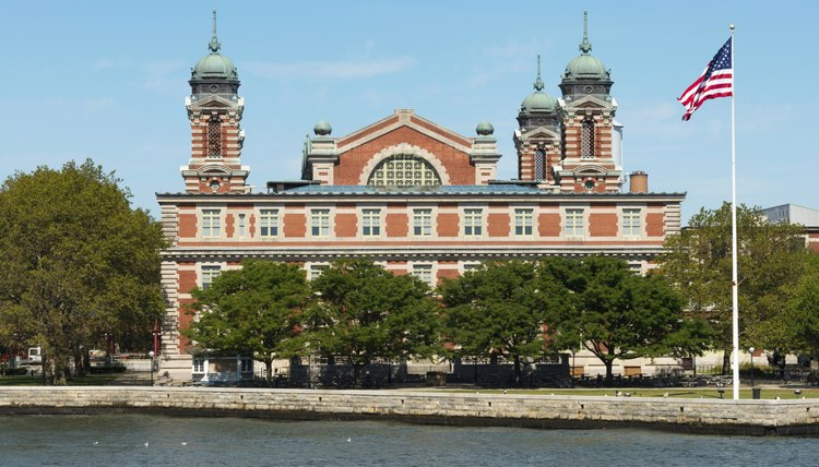 Opened in 1892, Ellis Island was the arrival point for millions of immigrants.