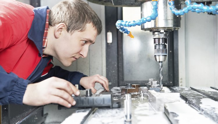 a job description for a cnc machine operator