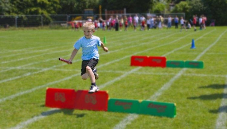 How to Train Kids to Run Hurdles