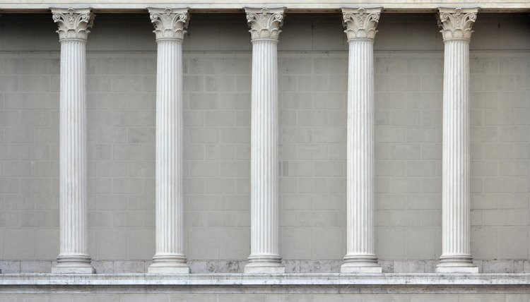 Types Of Roman Columns : Types of greek columns synonym