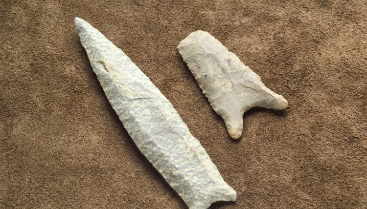 Native American artifacts.