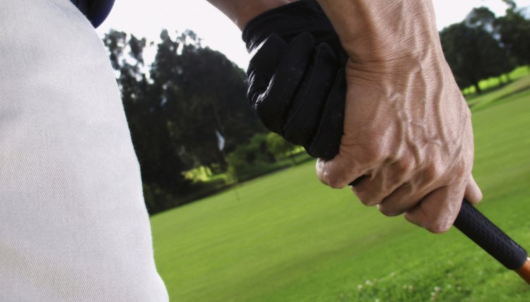 Check the positions of your hands at address to read your grip properly.
