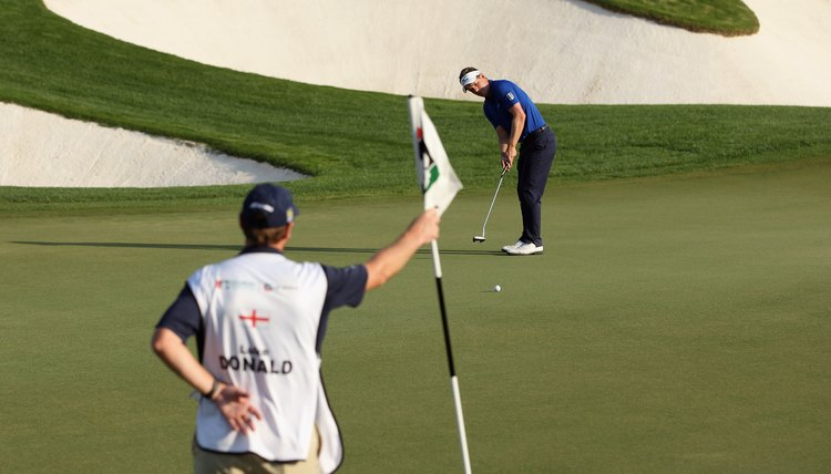 Luke Donald's putting skill helped him win the 2011 money titles on both the PGA and European Tours.