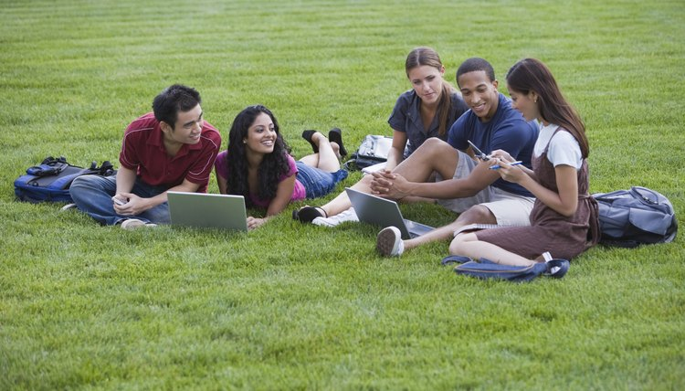 Study groups can make dull subjects easier to bear.